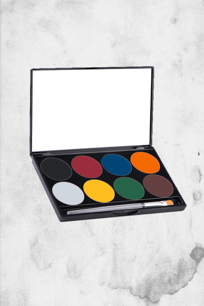 mehron makeup kid 8 color set pallete