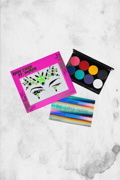 mehron alien festival makeup jewel set