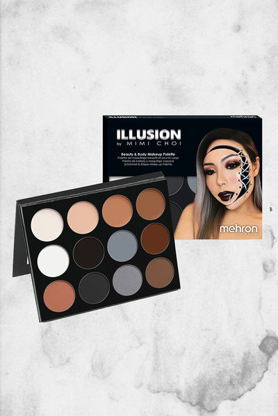 illusion pallete mimi choi mehron