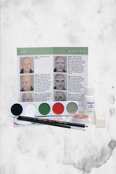 monster halloween frankenstein makeup kit