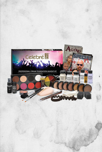 mehron make-up kit large HD tv and film