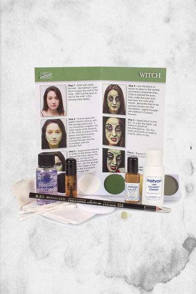 mehron witch makeup kit