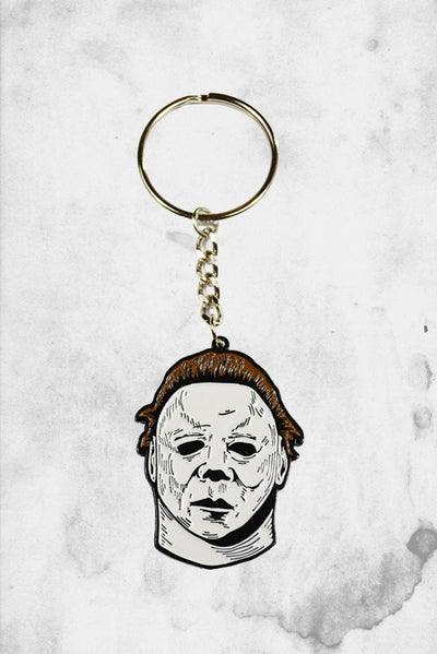 Michael Meyers Keychain Metal Halloween II