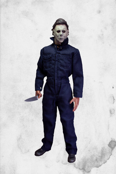 "michael myers action figure 12"" tall trick or treat stuidios colelctible"