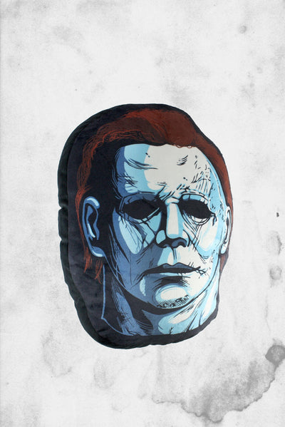 michael myers halloween pillow