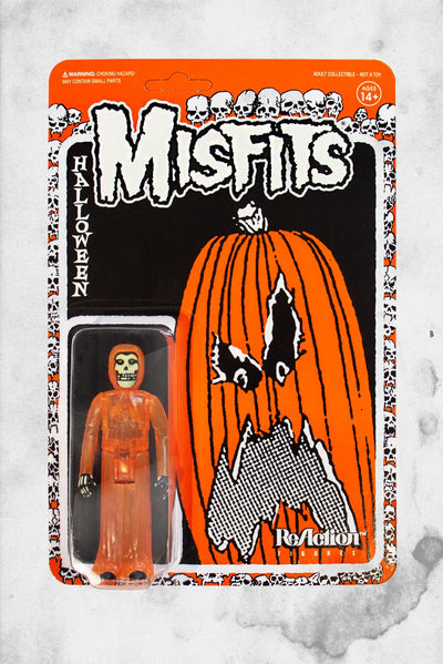 misfits halloween ornage action figure
