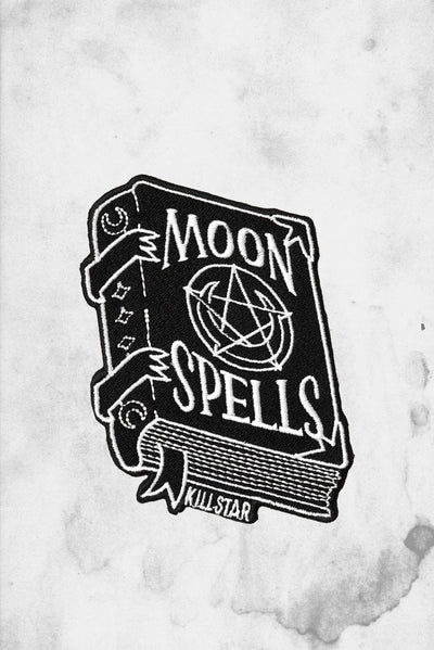 moon spells goth patch killstar