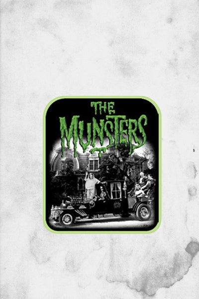 munsters merchandise patch iron on