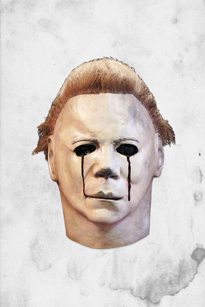 halloween mask trick or treat michael myers tears