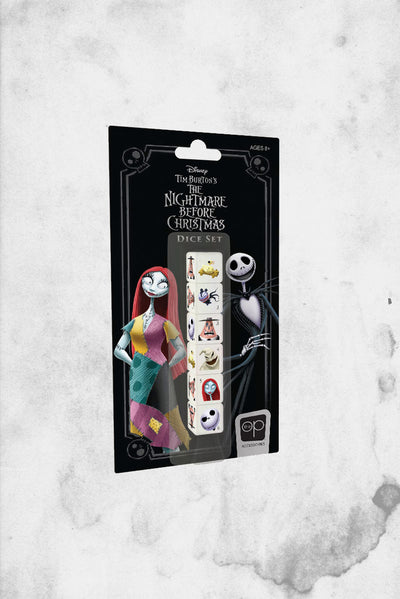 nightmare before christmas dice set