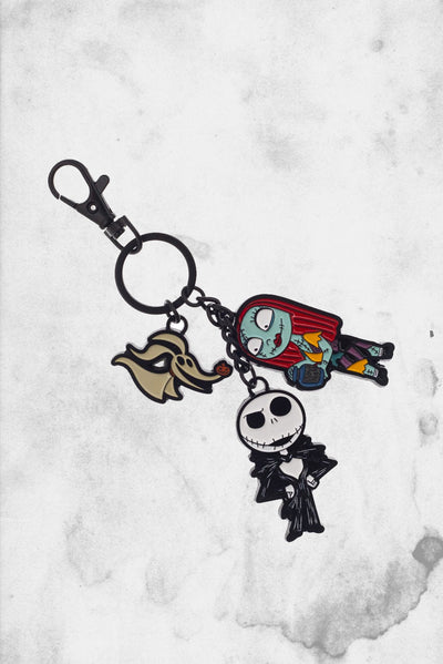 the nightmare before christmas disney keychain set