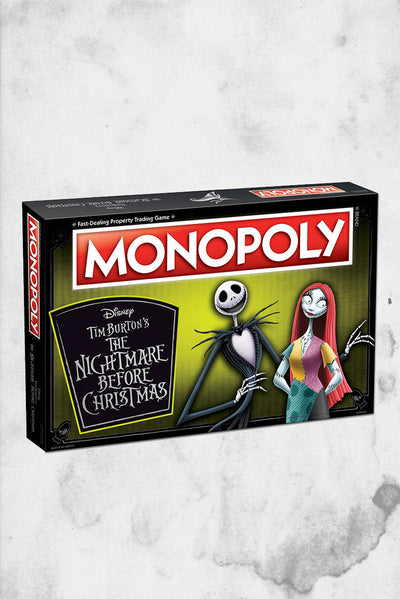 disney nightmare before christmas monoply