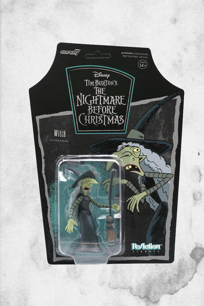nightmare before christmas witch reaction super 7 figure