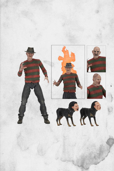 nightmare on elm street freddy figure