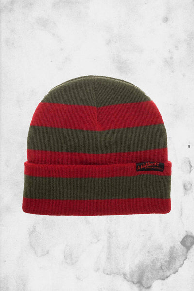 nightmare on elm street Freddy beanie