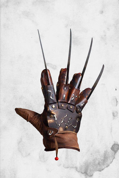 nightmare on elm street 4 freddy kreuger movie halloween prop costume glove