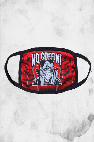 no coffin dracula face mask