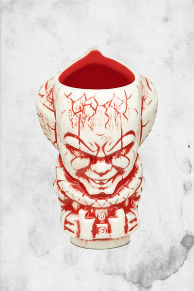 horror themed pennywise IT shot glass