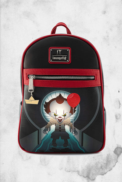 IT Pennywise Balloon sewer backpack