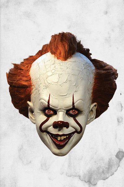 pennywise IT movie clown mask creepy halloween