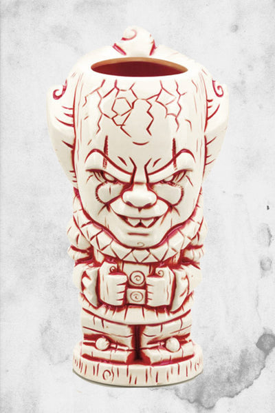 pennywise horror themed tiki mug
