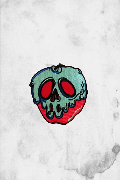 Poison Apple iron-on Patch