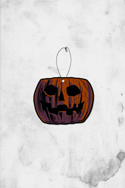 Pumpkin Pail Halloween air freshener