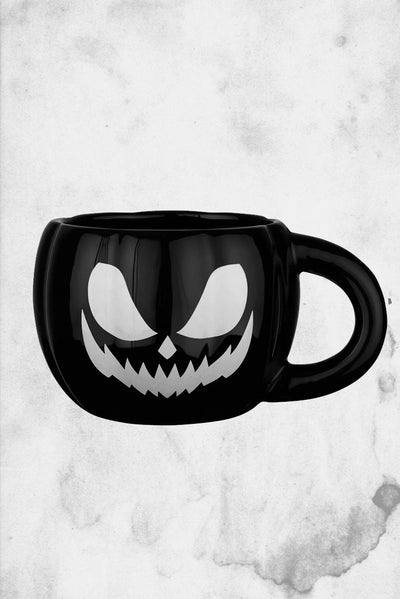 halloween pumpkin shaped mug