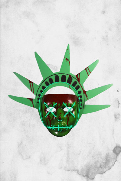 the purge liberty mask led light up
