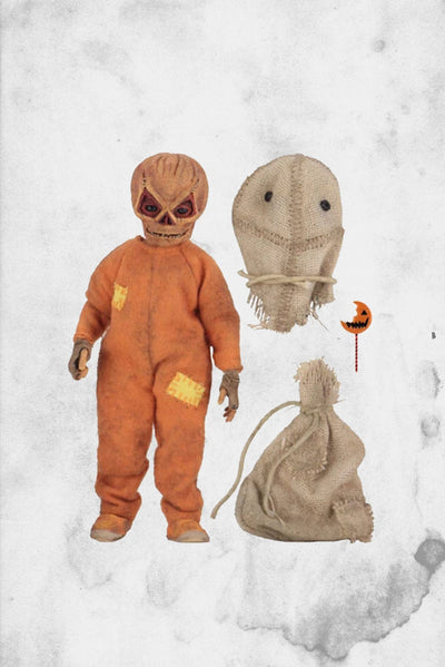 "Sam Trick 'R Treat NECA figure 8"" clothed figure"
