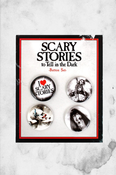 scary stories buttons