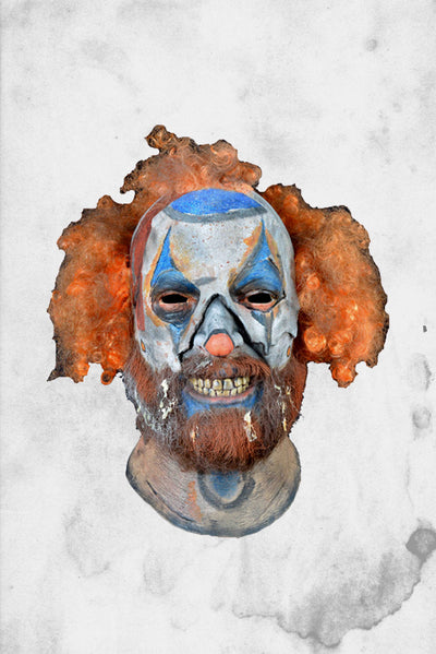 creepy halloween clown mask rob zombie