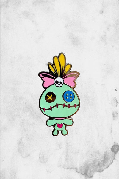 scrump themed enamel pin fantasy disney art