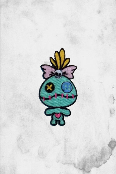 scrump doll patch iron on Spooksieboo