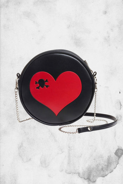 cute horror small goth purse
