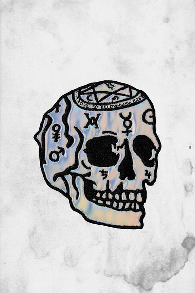 skull holographic patch magi killstar