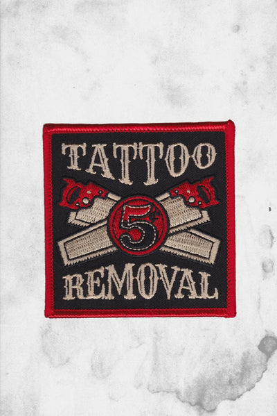 tattoo removal funny patch
