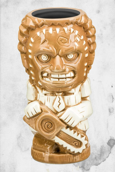 leatherface horror tiki mug texas chainsaw massacre geeki tiki