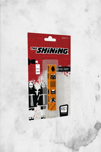 shining movie game dice set