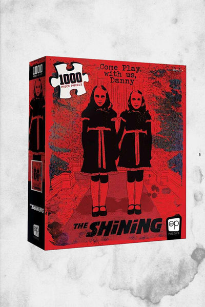 the shining movie poster artwork horror puzzle