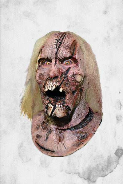 Scary Halloween zombie mask walking dead