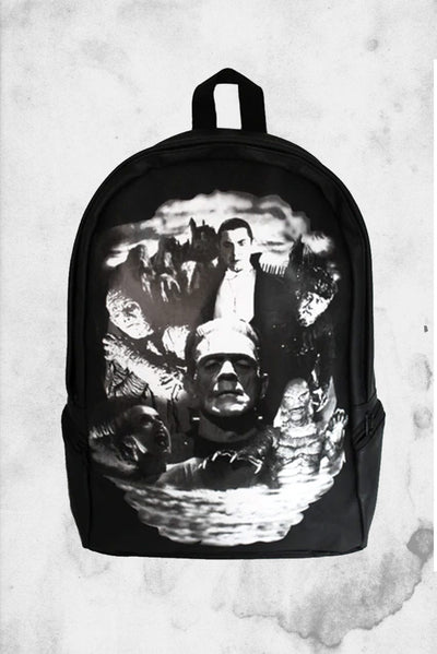UNIVERSAL MONSTERS COLLAGE BACKPACK