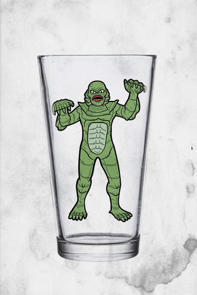 universal monster creature drinking glass