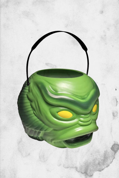 plastic trick or treat candy halloween bucket universal monsters