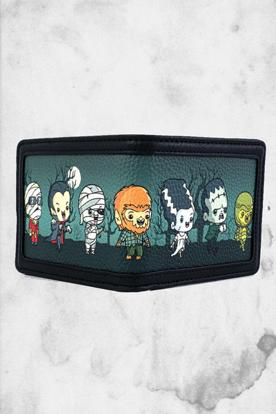 universal monsters wallet