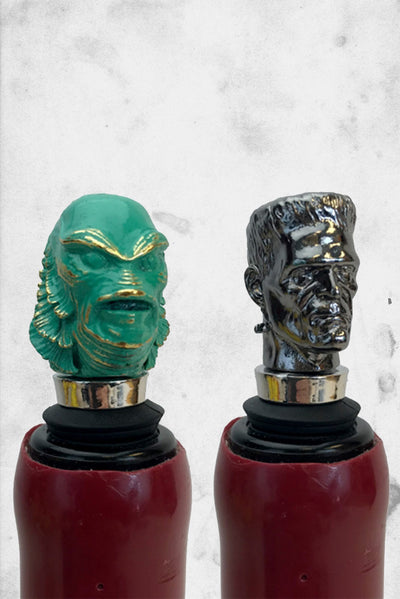 universal monsters wine toppers collectible horror