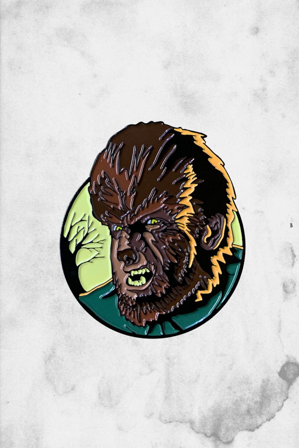 Universal Monsters Wolfman Enamel Pin