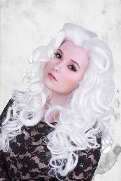 cosplay white wig