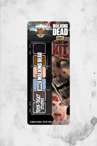 walking dead zombie makeup kit halloween wolfe fx cosplay