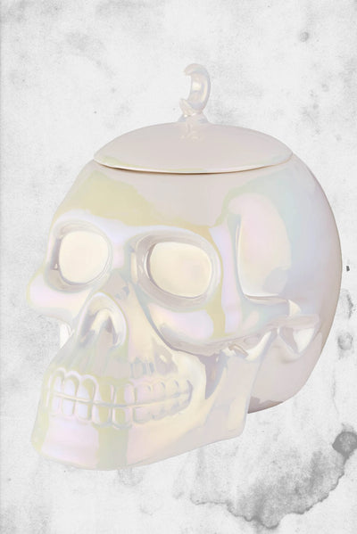 skull cookie jar killstar halloween horror